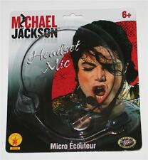 MICHAEL JACKSON King of Pop HEADSET HEADPHONE MIC Microphone TOY PROP REPLICA