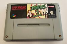 Zombies ate my Neighbors Snes Super Nintendo PAL
