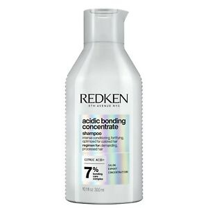 Redken Acidic Bonding Concentrate Shampoo For Dry, Damaged hair 300ml new