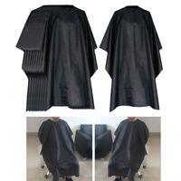 10 pièces de coiffure de salon réutilisables Capes de coiffure robe de