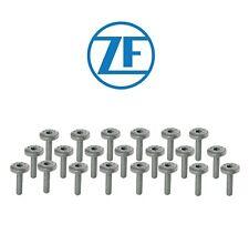 OEM ZF Set of 21 Automatic Transmission Oil Pan Bolts for BMW Jaguar Land Rover