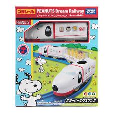 Takara Tomy Dream Railway Plarail Peanuts Snoopy Express Motorized Toy Train New