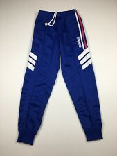 Vintage Adidas Blue Pleated Front Track Pants Sz M