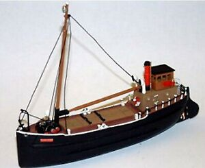 70ft Steam Coaster Puffer Ship NMB11a UNPAINTED N Gauge Scale Langley Models Kit