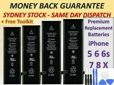 For iPhone 5 5S 8 6 6S 7 PLUS High Capacity Battery Replacement Tools For Apple