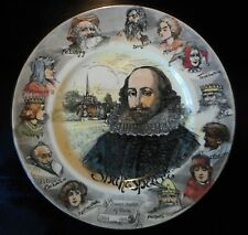 "Vintage Royal Doulton 10.5"" Shakespeare Character Plate, D5410, 1930's"