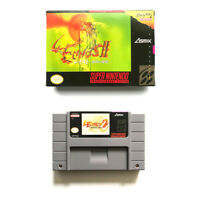 Lennus II for snes game cartridge english translated