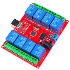 8 channel 12 V USB Relay Module Opto-couple For Arduino Robotics