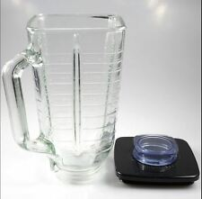 Oster Blender 5-cup Glass Jar Replacement Plus Square Lid NEW