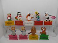 Schleich Dreiecksockel socle Auswahl == Muppets Spitzer Sesamstraße Weihnachten