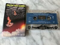 Faith No More The Real Thing Cassette Tape 1989 Slash/Reprise US PRESS VERY RARE