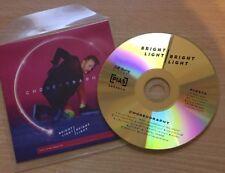 Choreography - Bright Light (with Elton John) - RARE Promo VGC CD Pias Records