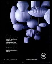 2004 George Nelson modern bubble lamp 14 design photo Modernica vintage print ad