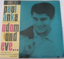 """Paul Anka EP """"ADAM AND EVE"""" Karusell PEP 2013 made in SWEDEN Laminate Pic Sleeve"""