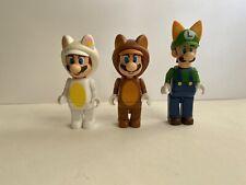Super Mario World K'Nex Rare Mario Raccoon Luigi Fox