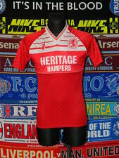 4.5/5 Middlesbrough Erwachsene S 1988 Retro selten Fußball Shirt Trikot Jersey Fussball