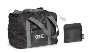Audi Bag Packable, Black  Genuine
