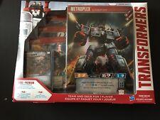 Transformers TCG Metroplex Deck Set Series 1 ~ New Sealed