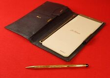 Vintage St. Thomas Letter Writing Notepad and Mechanical Pencil Wallet Leather