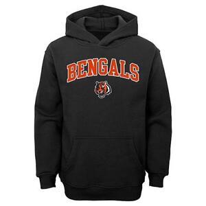 NFL Cincinnati Bengals Youth Team Pride Black Hoodie Jacket