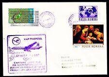 "Erstflug LH ""Bukarest - Frankfurt"" 05.11.1968 !! HaSi.1069 EFIMEX 68 Mexiko"