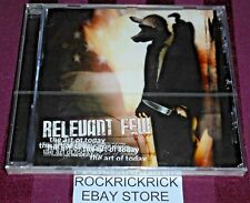 RELEVANT FEW - THE ART OF TODAY -25 TRACK CD- (NEW & SEALED)
