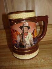 John Wayne Mug Stein~ Bradford Exchange~ Western Legend~ 2011~ numbered~ exc
