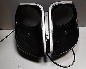 Datsun 280 ZX Turbo Headlight Buckets Scoops w/ Washers. Pair- Nice Shape
