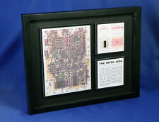 The Intel 4004 - The World's First Microprocessor (P4004,Artwork,ChipScapes)
