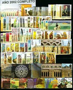 Sellos de España 2002 USADO COMPLETO