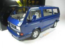 Volkswagen VW Bulli T3 Multivan Last Edición 1992 azul Metálico 1 18 Kk-scale