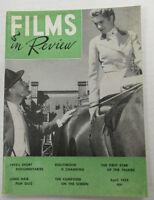 Films In Review Digest   Grace Kelly  April 1956  vg  100914lm-e