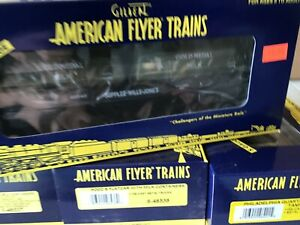 American Flyer 6-48543 supplee flatcar,gold medal milk ,S Scale, NIB nos train
