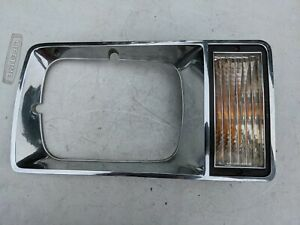 Buick Skylark Right Headlight Bezel Turn Signal Parking Light 81 82 83 84 85 RH