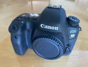 Canon EOS 6D Mark II DSLR Camera - Black (Body Only)