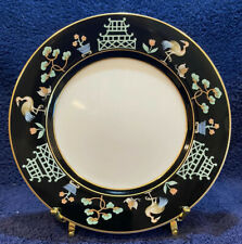 1977 Fitz And Floyd Inc. 7 1/2� Salad Desert Plate Chinoiserie Made In Japan.