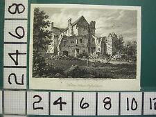 c1815  ANTIQUE PRINT ~ HOLTON HOUSE OXFORDSHIRE ~ STORER