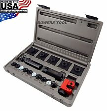 Cal Van Master In Line Double & Bubble Flaring Tool Set w Tube Cutter & USA Made