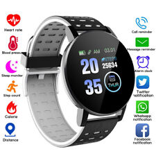 Smart Watch Heart Rate Monitor Sports Fitness Tracker For Android iPhone Samsung