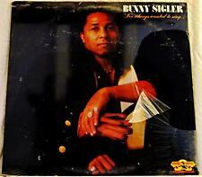 BUNNY SIGLER // I've Always Wanted to Sing / ORIGINAL 1979 US LP SEALED/ Mint-!