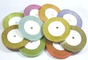 Sparkle Double Faced Glitter Ribbon - Various Colours and Widths