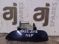 HONDA JAZZ 2013 PASSENGER SIDE FRONT EXTERNAL DOOR HANDLE (SOME MARKS)