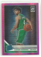 2019/20 Donruss Optic Carsen Edwards Boston Celtics Rated Rookie Hyper Pink