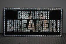 RETRO 1970'S PRISM METAL LICENSE PLATE BREAKER! BREAKER! CB RADIO CUSTOM VAN