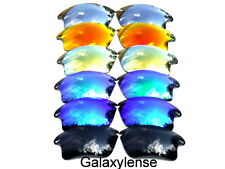 Galaxy Replacement Lenses For Oakley Fast Jacket Black&Blue&Green&Gold&Red&Titan