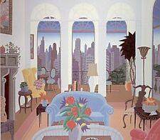 "Thomas McKnight    Blue Couch""    MAKE  OFFER    DSSTD"