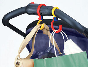 Kel-Gar 2 Pack Stroll'r Swivel'rs Swivel Hooks for Strollers Hands Free - 75829