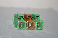 Pack set of 3 Nissan Quest Maxima female maxi brown 25A 30A fuse fusable link