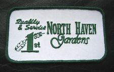 NORTH HAVEN GARDEN CENTER EMBROIDERED SEW ON PATCH NURSERY PLANTS DALLAS TEXAS