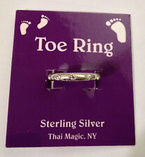 Cut Ring Trk9 Thai Magic Brand New Sterling Silver Toe Hand
